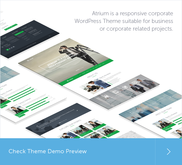 agency, financial, business, one page, corporate WordPress Theme