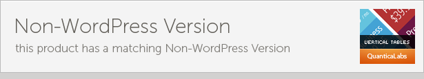 CSS3 Vertical Web Pricing Tables For WordPress Download