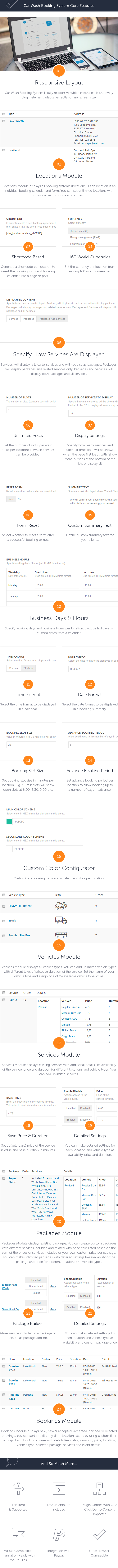 Car Wash Booking System For WordPress - 4