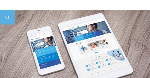 medicenter promo 01 01 - MediCenter - Health Medical Clinic WordPress Theme สร้างเว็บไซต์, ธีมแท้, ธีมเว็บสวยๆ, ธีม wordpress, ทำเว็บไซต์, ซื้อธีม wordpress, ชุดรูปแบบ, wp theme, wordpress theme, veterinary, themeforrest, theme, pharmacy, medicine, medical care, medical, hospital, healthcare, health care, health, doctor, dentist, dental, Coronavirus, corona, clinic