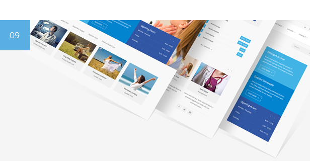 clinic, hospital, doctor, beauty, health and medical WordPress Theme
