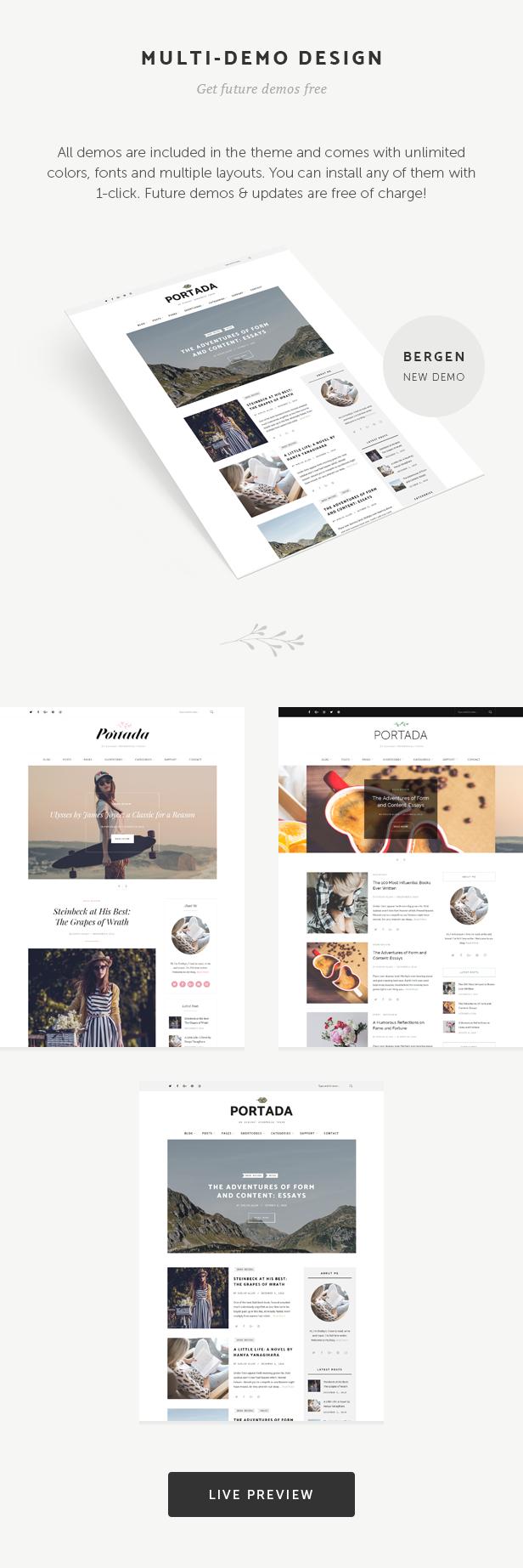 blog, magazine, editorial, lifestyle, blogging WordPress Theme