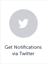 Rep notificacions a través de Twitter