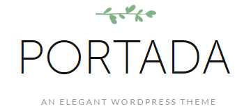 Portada – Elegant WordPress Blogging Theme