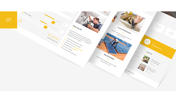 construction, construction services, building, remodeling, handyman WordPress Theme