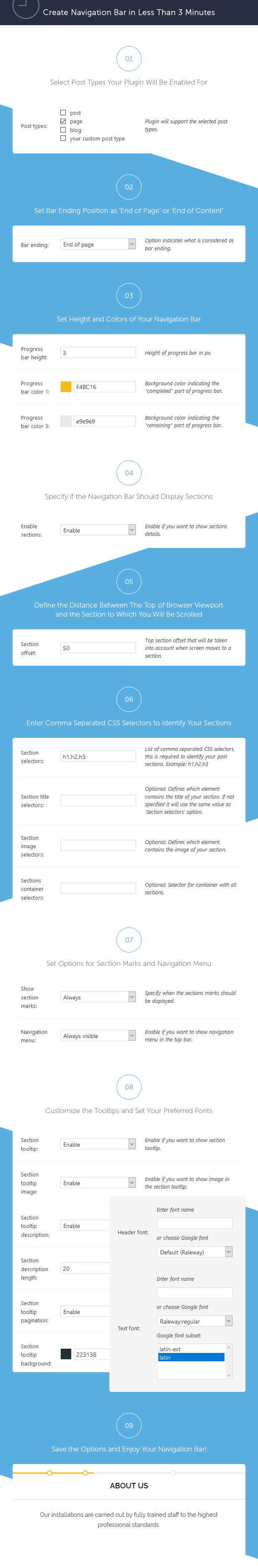 Site Content Navigator For WordPress - 3