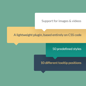 CSS3 Tooltips for WordPress