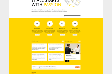 Lemon WordPress Theme
