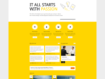 Lemon WordPress Theme