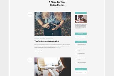 Norge WordPress Theme