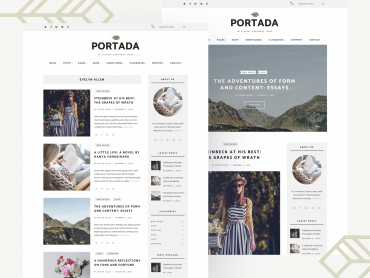 Portada WordPress Theme