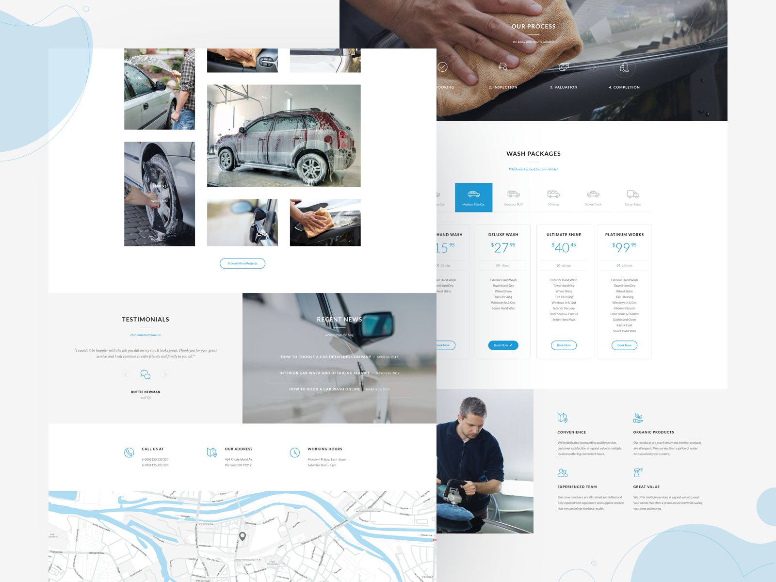 Auto Spa WordPress Theme
