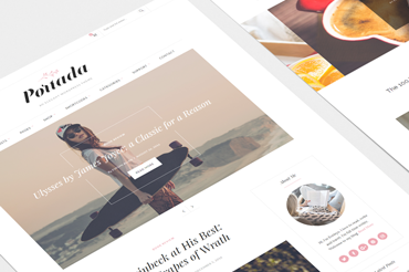 Portada WordPress Theme