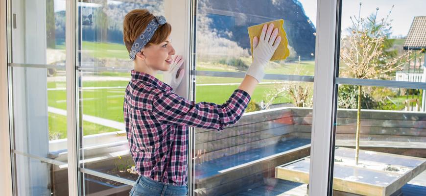Window cleaning checklist